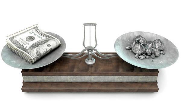 Wall Art - Digital Art - Balance Scale Comparison by Allan Swart