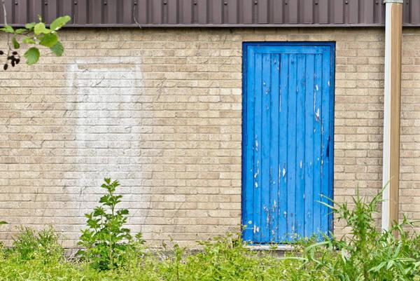 Aspect Wall Art - Photograph - Blue Door by Tom Gowanlock