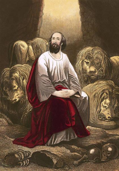Daniel In The Lions' Den Art Print