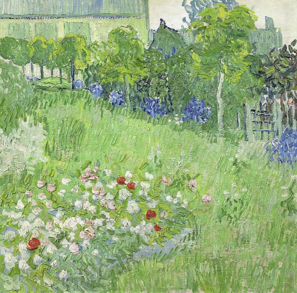 Painting - Daubigny's Garden by Vincent van Gogh
