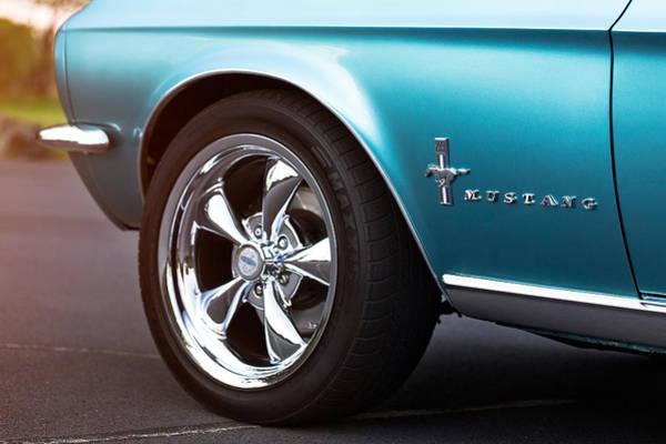 Transportation Digital Art - Ford Mustang by Super Lovely