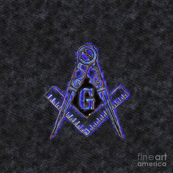 Serpent Painting - Freemason, Mason, Masonic Symbolism by Pierre Blanchard