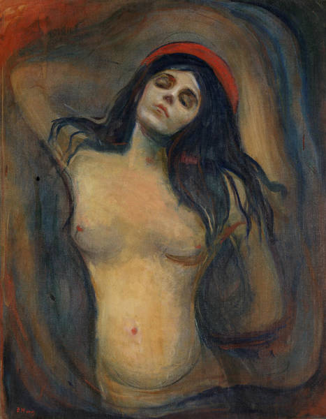 Norwegian Painting - Madonna by Edvard Munch