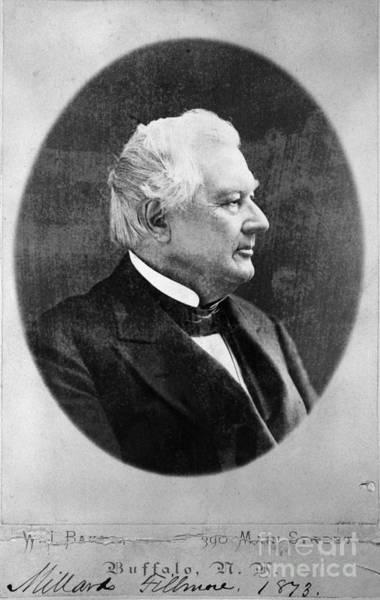 Whig Photograph - Millard Fillmore (1800-1874) by Granger