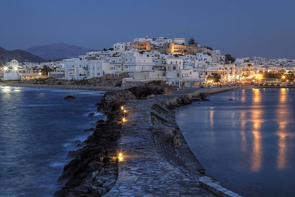 Aegean Sea Photograph - Naxos - Cyclades - Greece by Joana Kruse