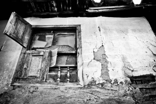 Bannister Wall Art - Photograph - Old Window by Tom Gowanlock
