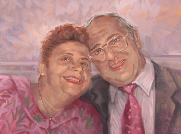 Painting - Grandparents by Gary M Long