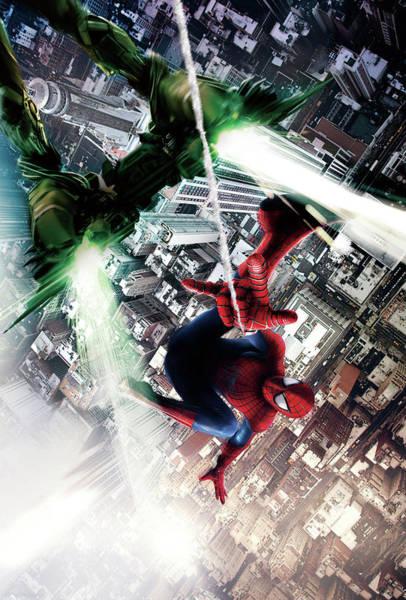 Tobey Digital Art - The Amazing Spider-man 2012 by Geek N Rock
