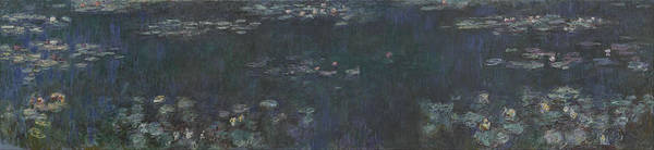 Painting - The Water Lilies by Claude Monet