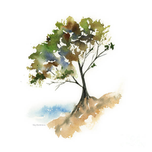 Painting - #11 Tree by Amy Kirkpatrick