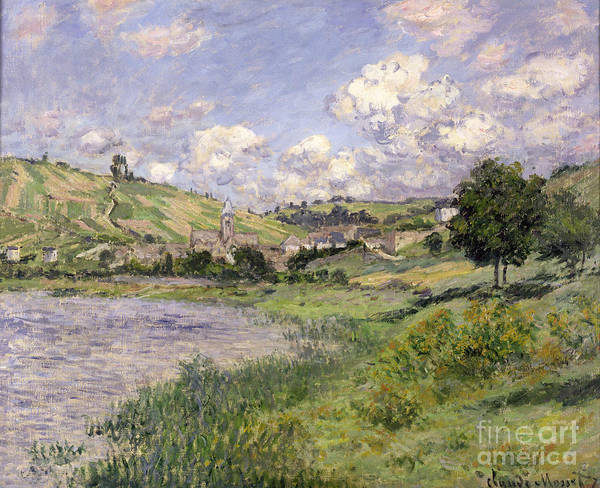 Painting - Vetheuil by Celestial Images