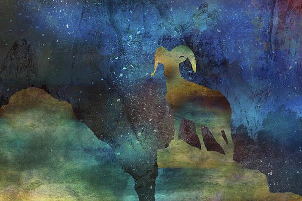 Digital Art - 11036 Night Of The Ram by Pamela Williams
