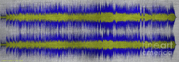 Wall Art - Digital Art - 11152 London Calling By The Clash - Blue With Title by Colin Hunt
