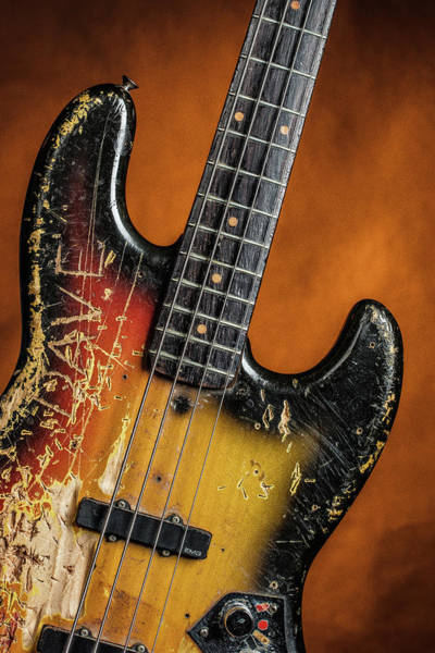 Photograph - 11.1834 011.1834c Jazz Bass 1969 Old 69 by M K Miller