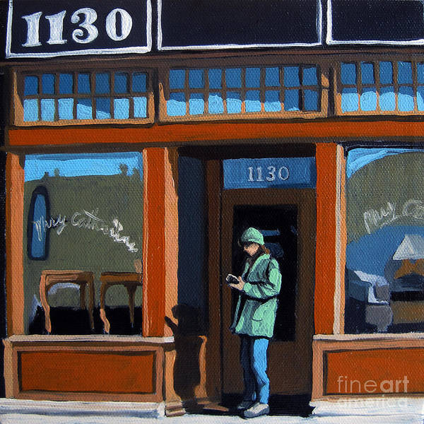 Wall Art - Painting - 1130 High St. by Linda Apple