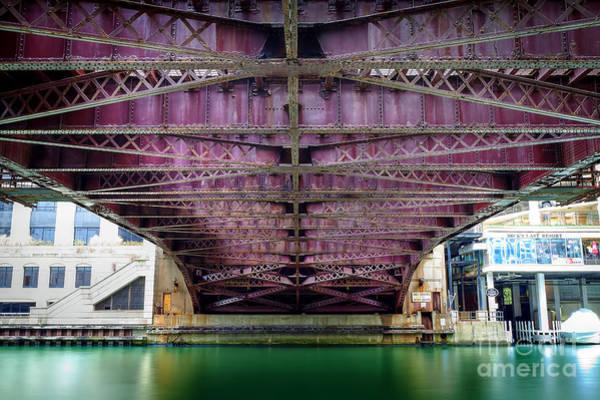 1136 Under The Dearborn Street Bridge Art Print