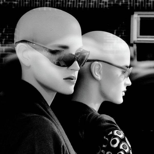Dummy Digital Art - 11446 Mannequin Series 11-21 Monochrome by Colin Hunt