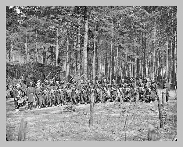 Photograph - 114th Pa Co. F by John Feiser