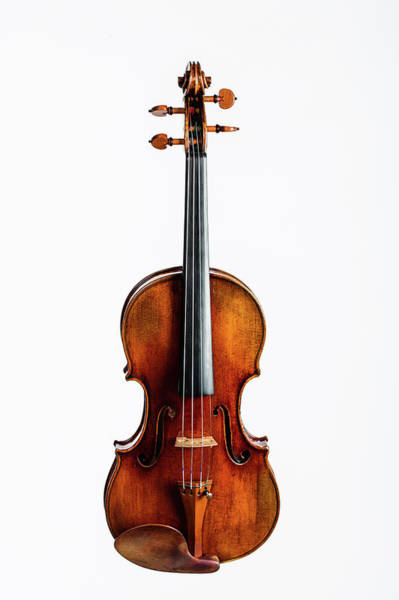 Photograph - 116 .1841 Violin By Jean Baptiste Vuillaume by M K Miller
