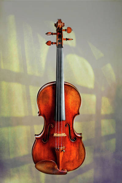 Photograph - 118 .1841 Violin By Jean Baptiste Vuillaume by M K Miller