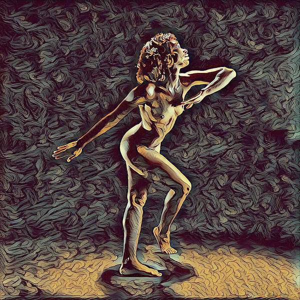 Digital Art - 1192s-zac Nudes In The Style Of Antonio Bravo  by Chris Maher