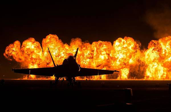 Flammable Wall Art - Photograph - Air Show by FL collection