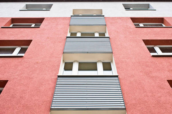 Apartments Photograph - Apartment Building by Tom Gowanlock