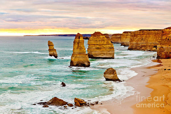 Indian Photograph - 12 Apostles by Az Jackson