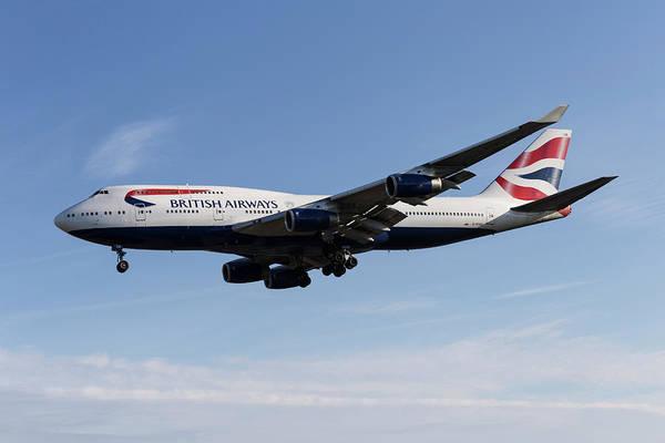 Wall Art - Photograph - British Airways Boeing 747 by David Pyatt