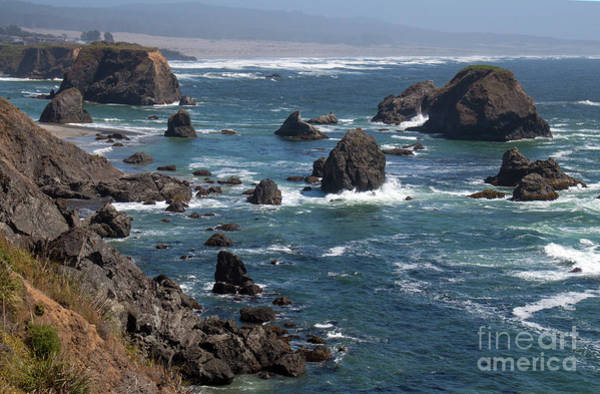 Photograph - California Coast by Gregory Dyer