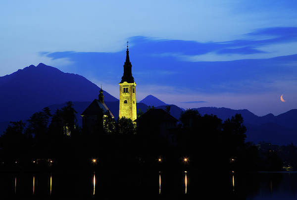 Wall Art - Photograph - Dawn Breaks Over Lake Bled by Ian Middleton