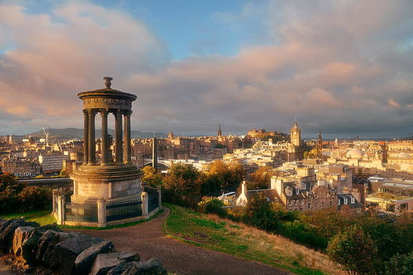 Photograph - Edinburgh by Songquan Deng