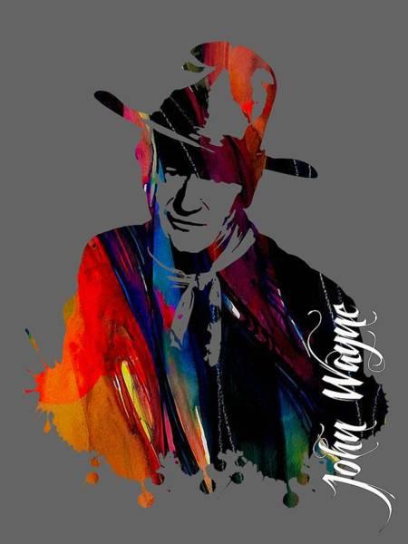 Wall Art - Mixed Media - John Wayne Collection by Marvin Blaine