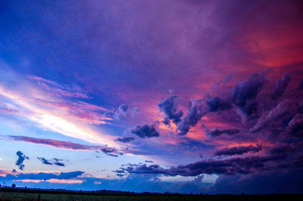 Photograph - Nebraska Hp Supercell Sunset by NebraskaSC