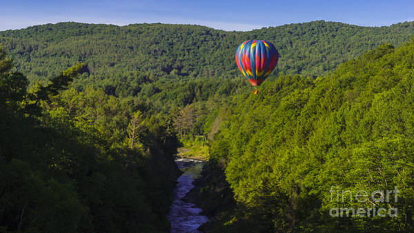 Photograph - Quechee Balloon Festival by New England Photography
