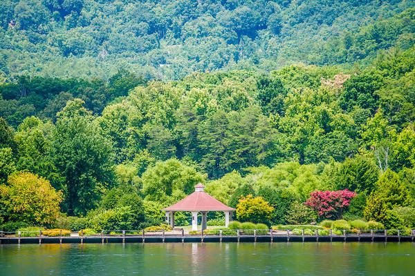 Scenery Around Lake Lure North Carolina Art Print