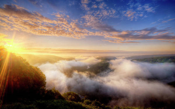 Landscape Digital Art - Scenic by Super Lovely
