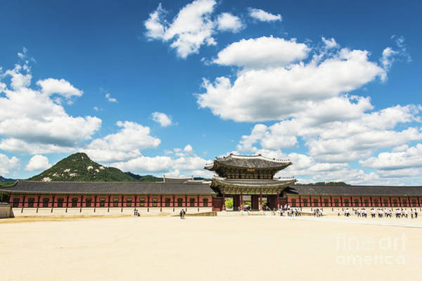 Photograph - Seoul Royal Palace by Didier Marti