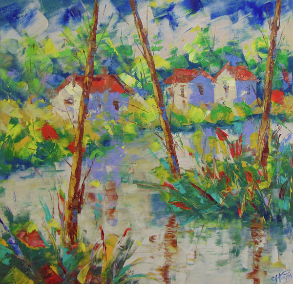 Painting - South Of France by Frederic Payet