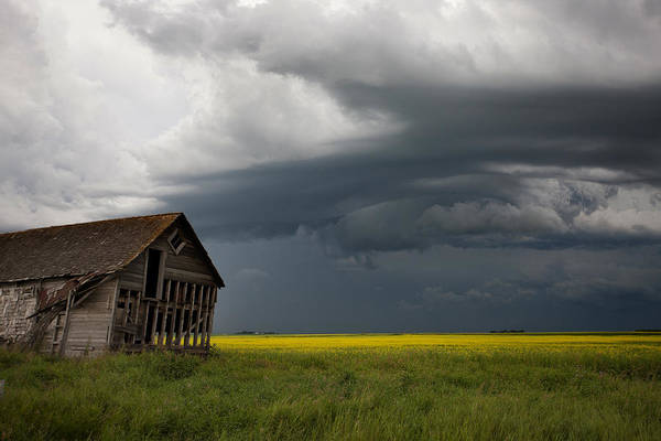Wall Art - Photograph - Storm Clouds Prairie Sky by Mark Duffy