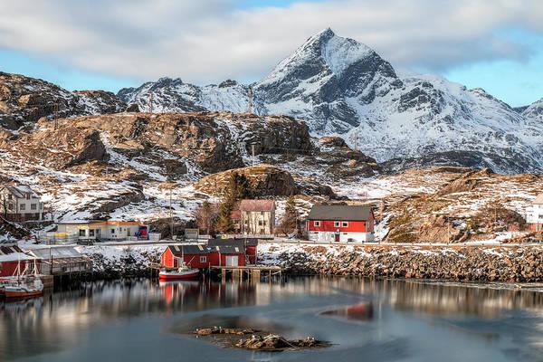 Berge Wall Art - Photograph - Sund, Lofoten - Norway by Joana Kruse