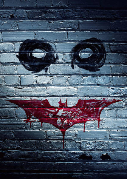 Wall Art - Digital Art - The Dark Knight 2008  by Geek N Rock