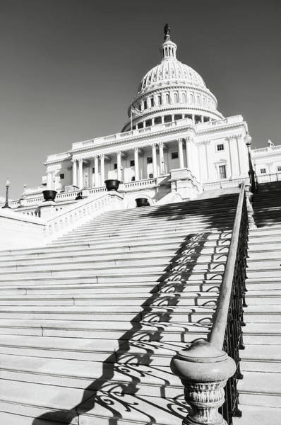 Photograph - Washington Dc Capitol Hill Building by Brandon Bourdages