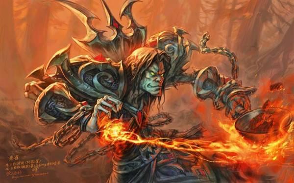 Fractal Digital Art - World Of Warcraft by Super Lovely