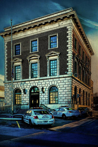 Photograph - 123rd Police Precinct  by Chris Lord