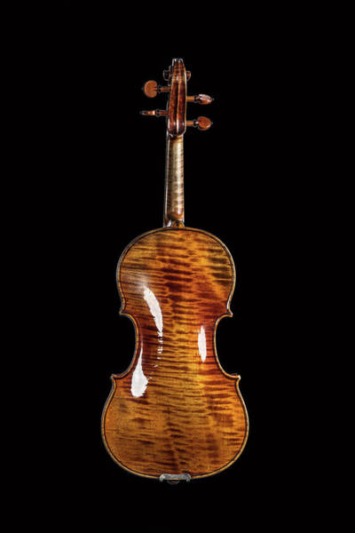 Photograph - 124 .1841 Violin By Jean Baptiste Vuillaume by M K Miller