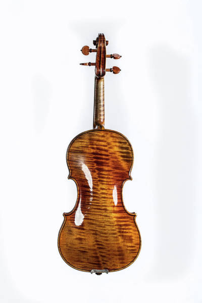 Photograph - 125 .1841 Violin By Jean Baptiste Vuillaume by M K Miller