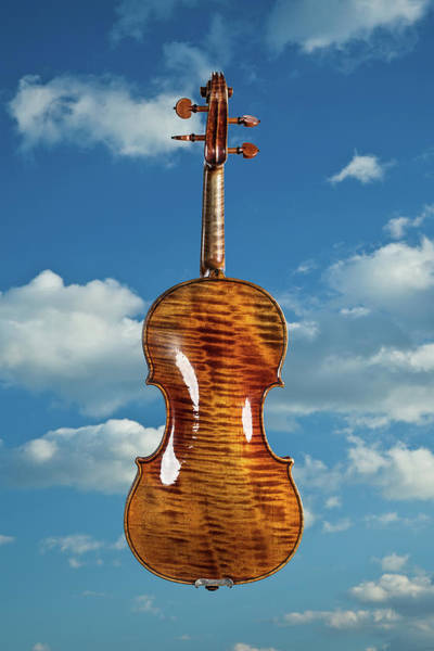 Photograph - 126 .1841 Violin By Jean Baptiste Vuillaume by M K Miller