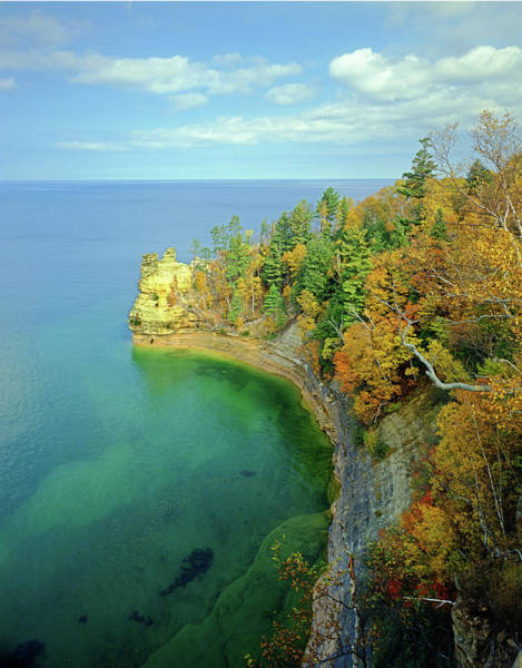 Photograph - 126221 Miners Castle At Pictured Rocks by Ed Cooper Photography