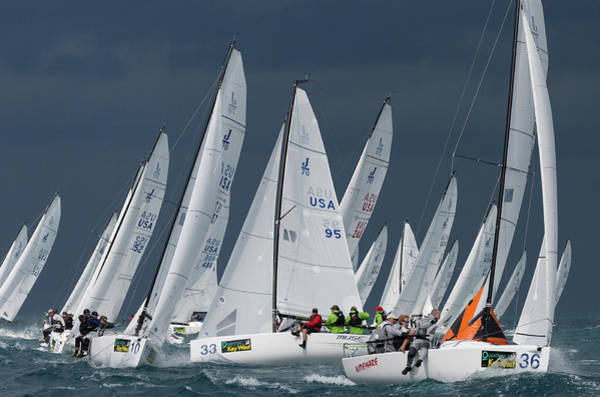 Photograph - Key West Race Week by Steven Lapkin
